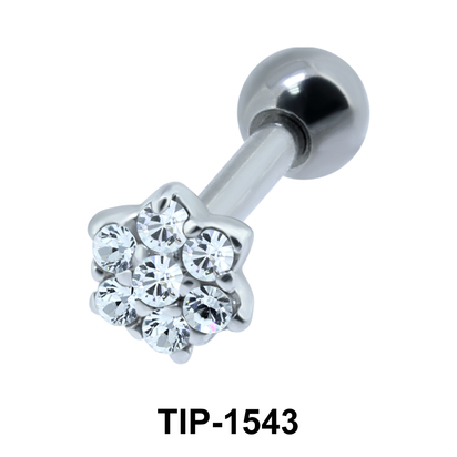Flower Shaped Ear Piercing TIP-1543
