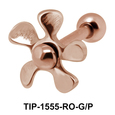 Propeller Shaped Groove Ball Attachment TIP-1555