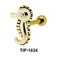 Seahorse Helix Ear Piercing TIP-1834