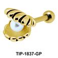 Pearl in Shell Underwater Helix Ear Piercing TIP-1837