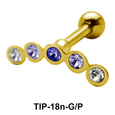 Multi Stone Helix Ear Piercing TIP-18n