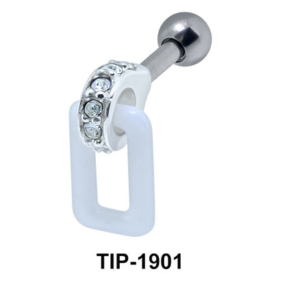Ceramic Helix Ear Piercing TIP-1901