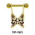 Butterfly Dangling Helix Ear Piercing TIP-1921
