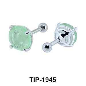 Fancy Color Stone Helix Ear Piercing TIP-1945