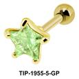 Pink Diamond and Star CZ TIP-1955-5