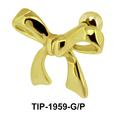 Bow Helix Ear Piercing TIP-1959