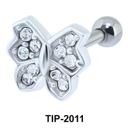 Butterfly Shaped Helix Ear Line TIP-2011