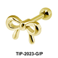 Bow Shaped Helix Ear Piercing TIP-2023