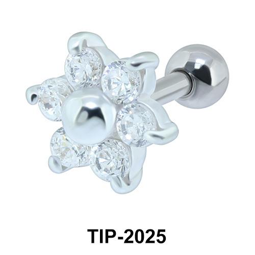 Flower Helix Ear Piercing TIP-2025