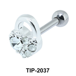 Heart Lock Helix Ear Piercing TIP-2037
