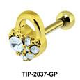Heart Lock Helix Ear Piercing TIP-2037