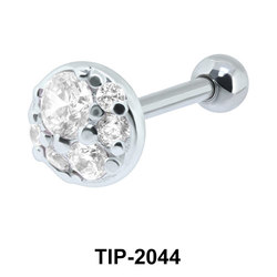 Multi Stone Helix Ear Piercing Romantic Line TIP-2044