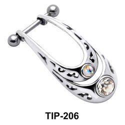 Dual Stone Cartilage Shields TIP-206