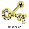Key Helix Ear Piercing Romantic Line TIP-2070