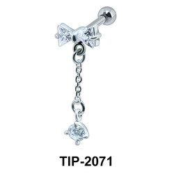 Dangling Helix Ear Piercing Romantic Line TIP-2071