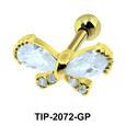 Bow Helix Ear Piercing TIP-2072