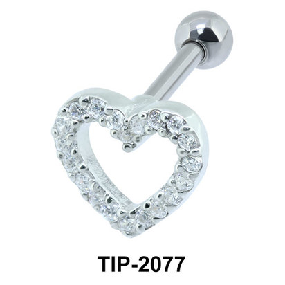 Heart Helix Ear Piercing TIP-2077
