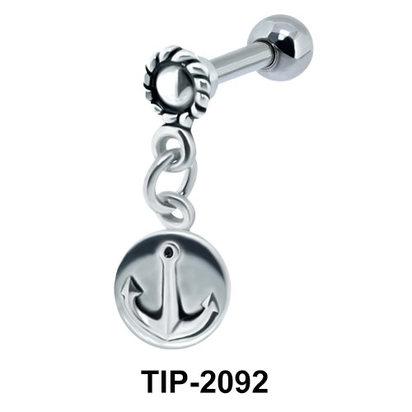 Ring n Anchor Helix Ear Piercing TIP-2092