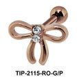 Ribbon n Bow Helix Ear TIP-2115