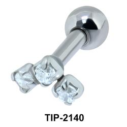 Tristone Helix Ear Piercing TIP-2140
