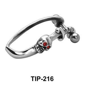 Stoned Skull Cartilage Shields TIP-216