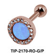 Turquoise Helix Ear Piercing TIP-2170