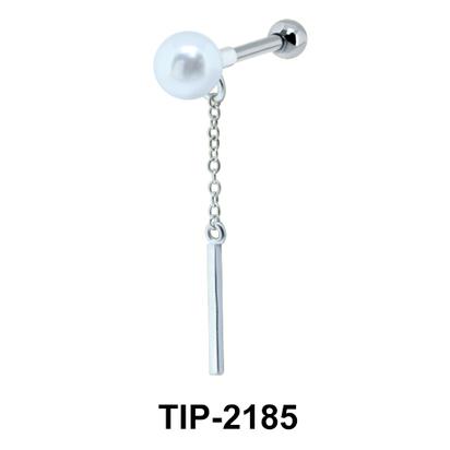 Chain n Pearl Helix Ear Piercing TIP-2185