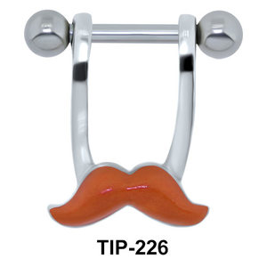 Mustache Shaped Helix Mini Shields TIP-226E