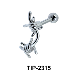 Knot Shaped Helix Ear Piercing TIP-2315