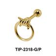 Knot Shaped Helix Ear Piercing TIP-2318