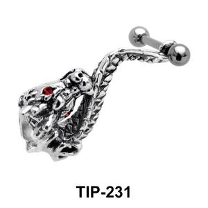 Dragon Shaped Cartilage Shields TIP-231