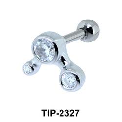 CZ Helix Ear Piercing TIP-2327