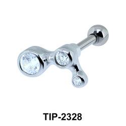 CZ Helix Ear Piercing TIP-2328