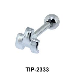 Stripe Pattern Helix Ear Piercing TIP-2333