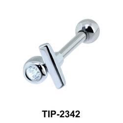 CZ Helix Ear Piercing TIP-2342
