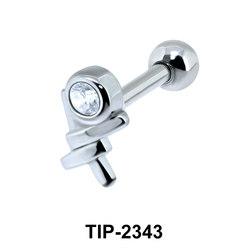 CZ Helix Ear Piercing TIP-2343