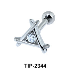 CZ Helix Ear Piercing TIP-2344