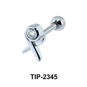 CZ Helix Ear Piercing TIP-2345