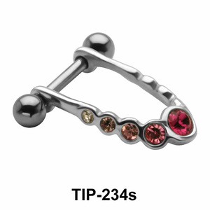 Multiple Stone Cartilage Mini Shields TIP-234s