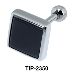 Black Square Upper Ear Unique Design TIP-2350