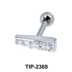 Multiple Stones Helix Ear Piercing TIP-2369