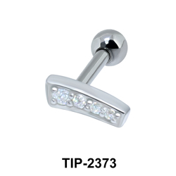 Multiple Stones Helix Piercing TIP-2373