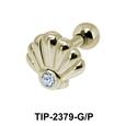 Shell Shaped Helix Ear Piercing TIP-2379
