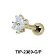 Flower Helix Ear Piercing TIP-2389