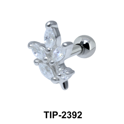 Multiple Stones Helix Ear Piercing TIP-2392