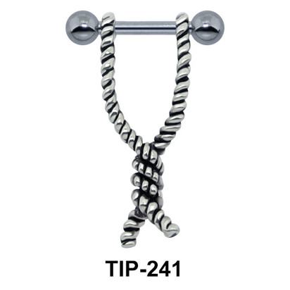 Tied Rope Helix Piercing TIP-241