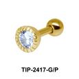 CZ Helix Ear Piercing TIP-2417