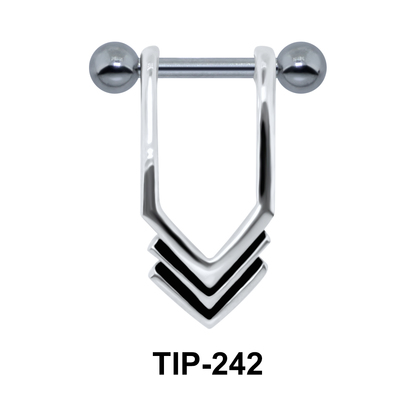 Interesting Design Helix Piercing TIP-242
