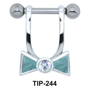 Hanging Bow Helix Piercing TIP-244