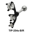 Trident Stone Helix Ear Piercing TIP-254s